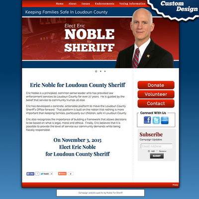 Eric Noble for Sheriff