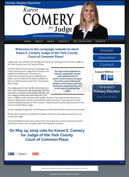 Karen E Comery for Judge of the York County Court of Common Pleas.jpg