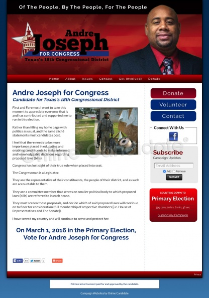 Joseph for Congress - Candidate for Texas's 18th Congressional District.jpg