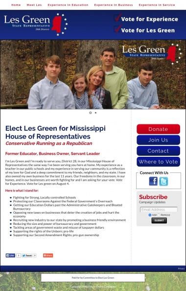 Elect Les Green for Mississippi House of Representatives.jpg