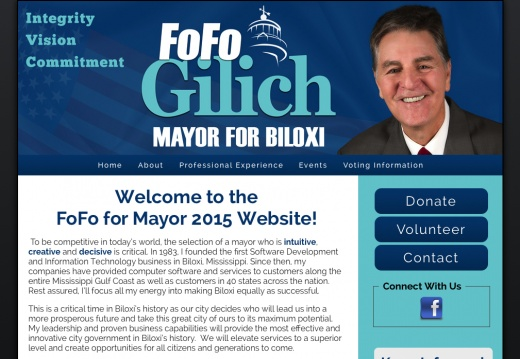 Elect Fofo Gilich Mayor