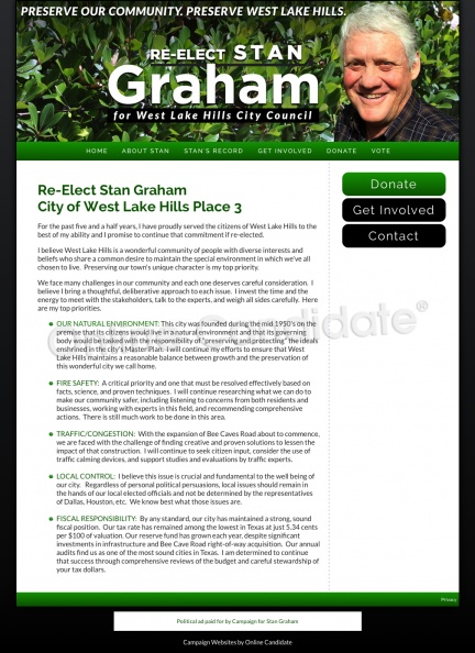 Re-Elect Stan Graham City of West Lake Hills Place 3.jpg