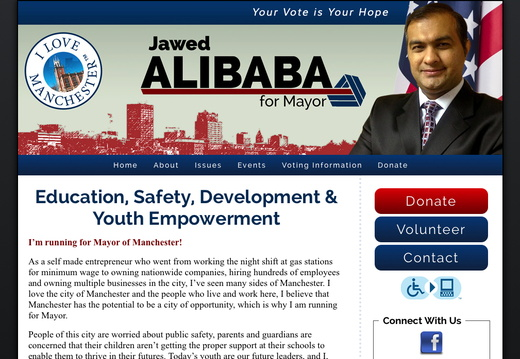 Mayor Websites