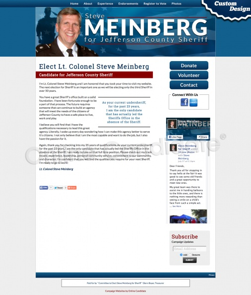 Elect Lt. Colonel Steve Meinberg for Jefferson County Sheriff.jpg