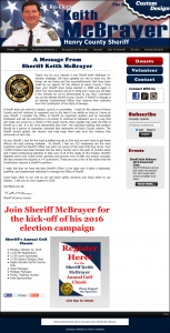 Re-Elect Sheriff Keith McBrayer