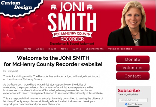 Joni Smith for McHenry County Recorder