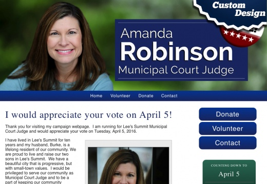 Robinson for Judge