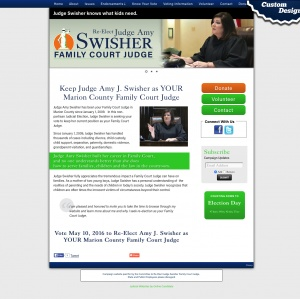 Judge Amy J Swisher for Marion County Family Court Judge