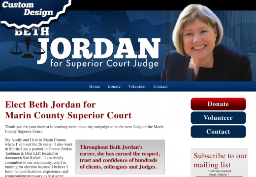 Elect Beth Jordan for Marin County Superior Court
