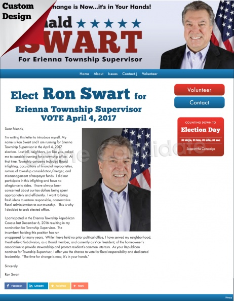 Ron Swart for Erienna Township Supervisor.jpg