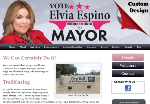 Elvia Espino for Mayor