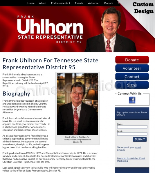 Frank Uhlhorn For Tennessee State Representative District 95.jpg