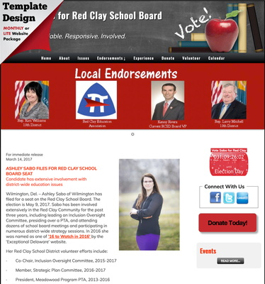 Ashley Sabo for Red Clay School Board