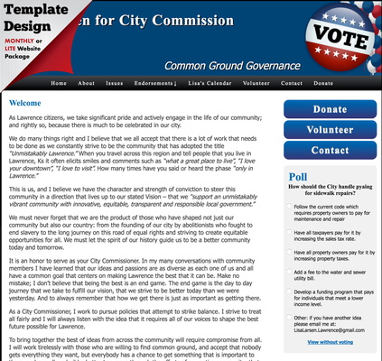 Lisa Larsen for City Commission