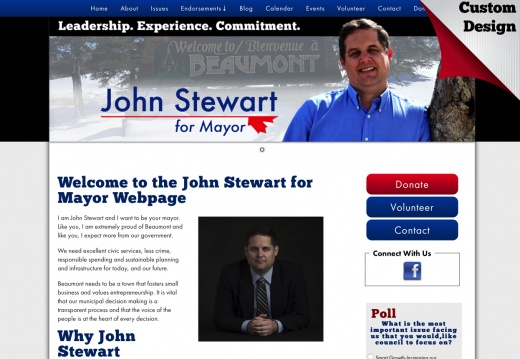 John Stewart for Mayor of Beaumont