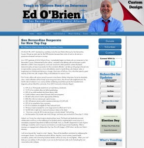 Ed O'Brien for District Attorney of San Bernardino County