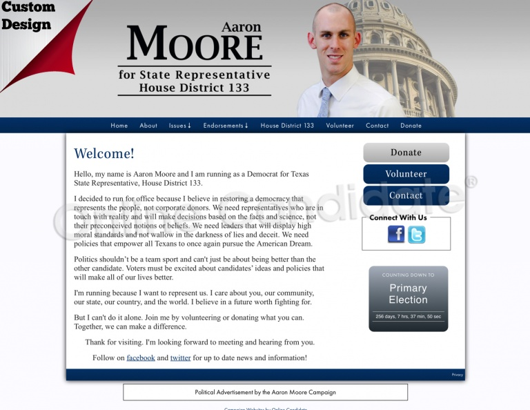 Aaron Moore for Texas State Representative, House District 133..jpg