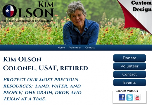 Kim Olson for Texas Agriculture Commissioner
