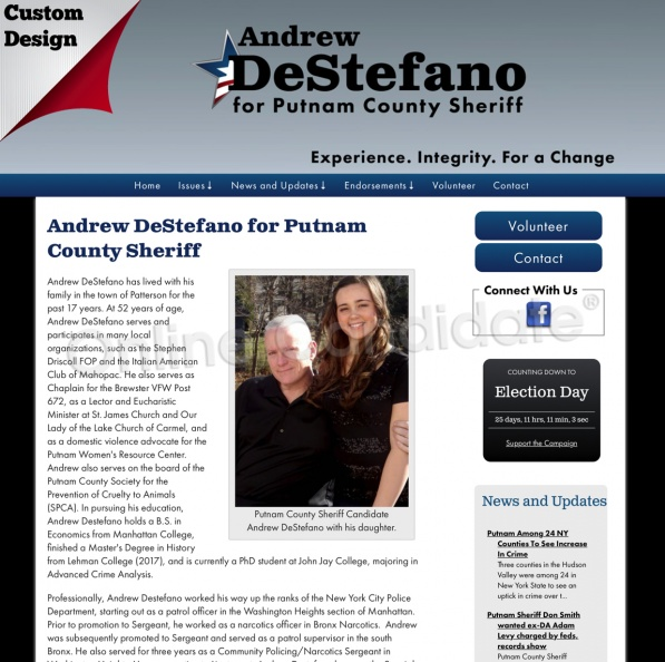Andrew DeStefano for Putnam County Sheriff | Campaign