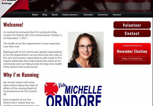 Michelle Orndorf for Fire Commissioner