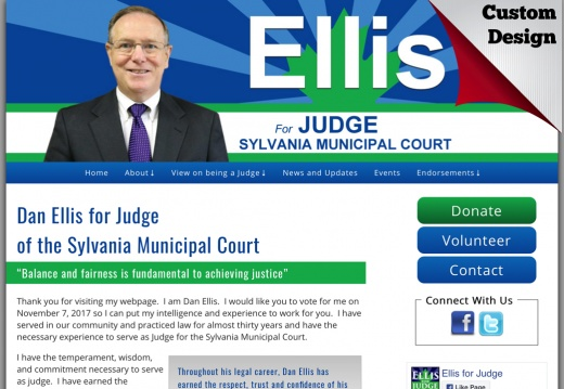 Dan Ellis for Judge of the Sylvania Municipal Court