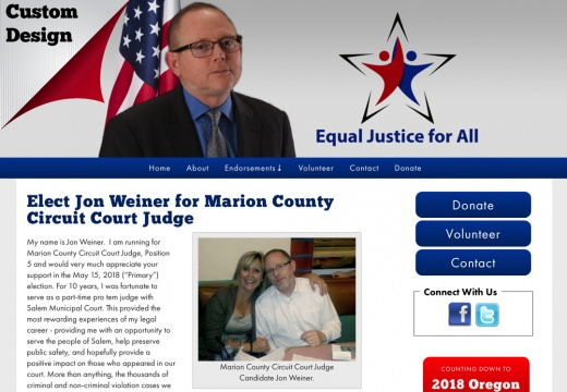 Jon Weiner for Marion County Circuit Court Judge