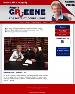 Angela Greene for Judge