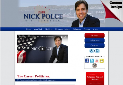 Nick Polce to the Wisconsin 1st Congressional District