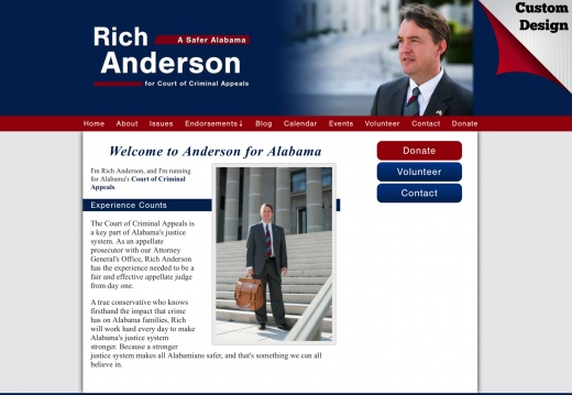 Rich Anderson for Alabama's Court of Criminal Appeals