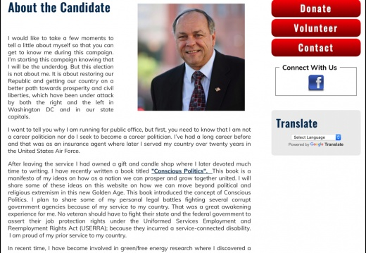Robert Hostetler For US Representative (Texas CD 20)