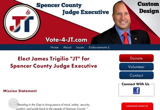 "James Trigilio ""JT"" for Spencer County Judge Executive"