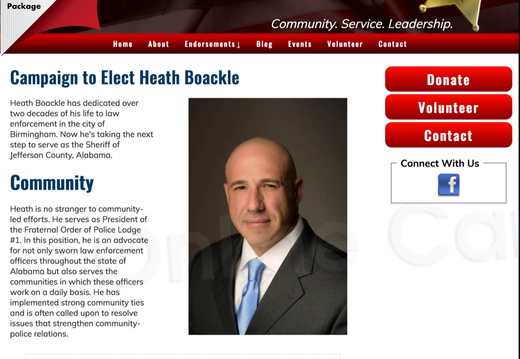 Heath Boackle for Sheriff