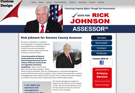 Rick Johnson for Stevens County Assessor