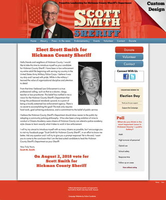 Elect Scott Smith for Hickman County Sheriff