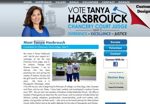 Tanya Hasbrouck for Chancery Court Judge, Seat 2