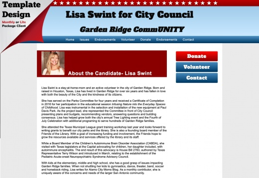 Lisa Swint for City Council