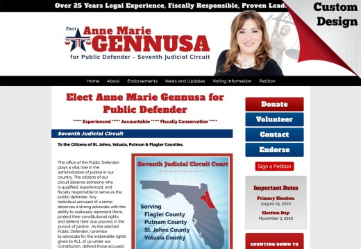 Anne Marie Gennusa for Public Defender