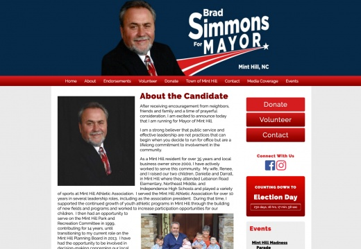 Brad Simmons for Mayor