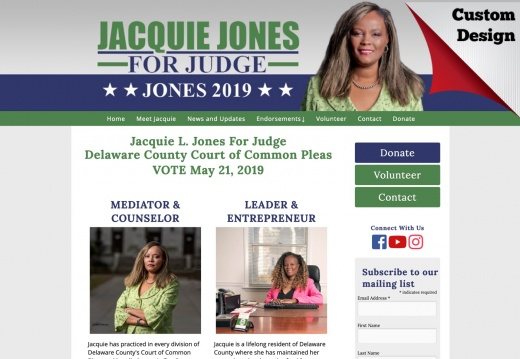 Jacquie L. Jones For Judge Delaware County Court of Common Pleas