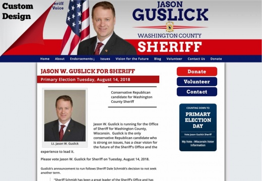 Jason  Guslick for Sheriff