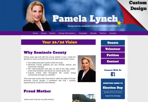 Pamela Lynch for Seminole County Commission District 5