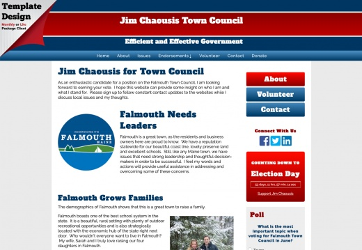 Jim Chaousis Town Council