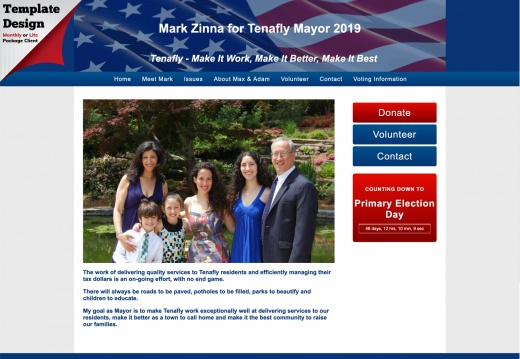 Mark Zinna for Tenafly Mayor