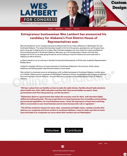 Wes Lambert for Congress - Alabama's 1st Congressional District.jpg