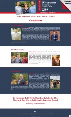 City Council Candidates Page