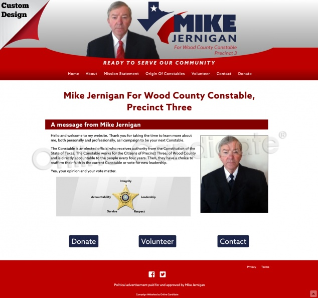 Mike Jernigan For Wood County Constable, Precinct Three.jpg