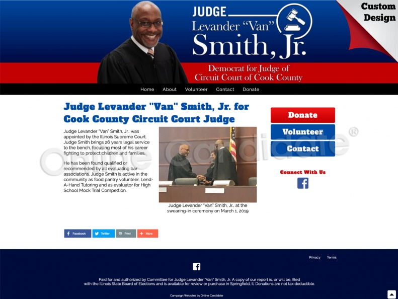 Judge Levander ''Van'' Smith, Jr. for Cook County Circuit Court Judge.jpg