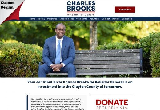 Charles Brooks for Solicitor General Donation Page