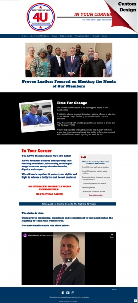 American Postal Workers Union Campain Website.jpg
