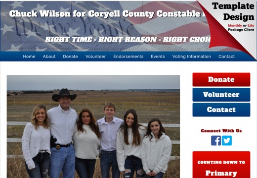 Chuck Wilson for Coryell County Constable Precinct 2